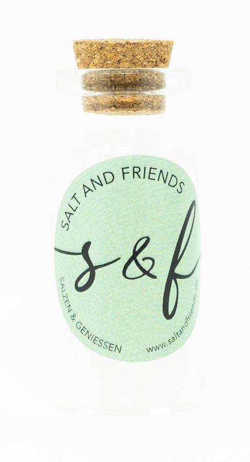 S&F Halitsalz fein gemahlen im Mini-Reagenzglas 14g