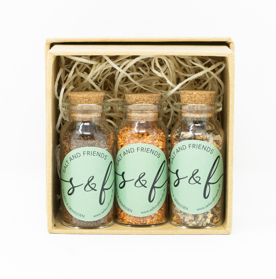 S&F Geschenkset Minis GrillBox