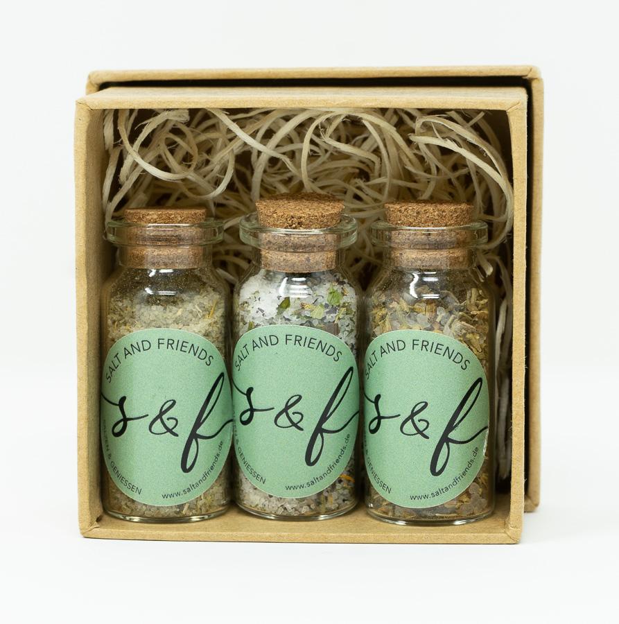 S&F Geschenkbox Minis O Salty´Mio